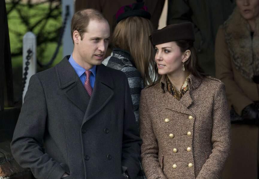 William et Kate, sans le petit George