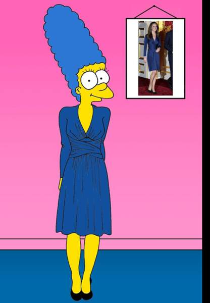 Marge Kate Middleton