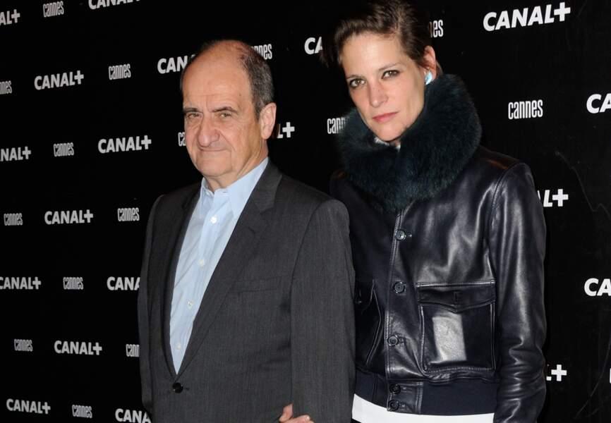 Pierre Lescure et Hélène Fillières à la soirée Canal +