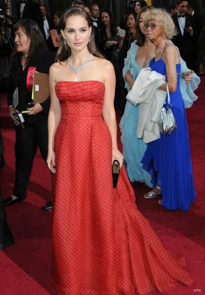 Natalie Portman est également l'égérie de la marque Dior