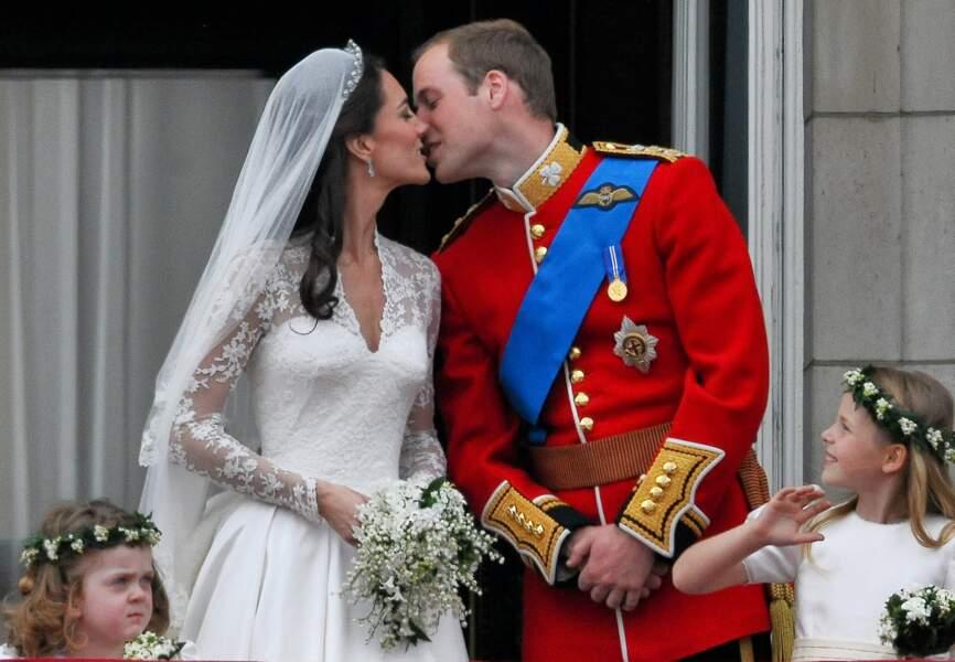 Le duc et la duchesse de Cambridge se marient le 29 avril 2011, en l'abbaye de Westminster