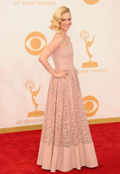 January Jones en Givenchy