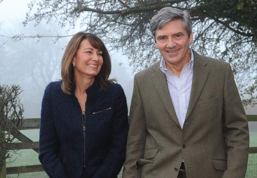 Catherine, surnommée Kate, est la fille de Michael et Carole Middleton