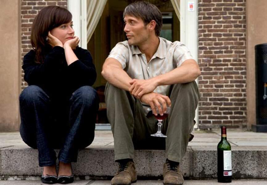 """Mads a aussi son côté sensible. Ici dans le drame """"After the wedding"""", tourné en 2006"""