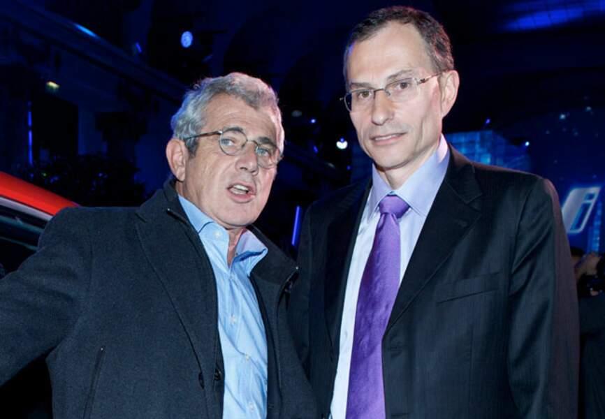 Michel Boujenah et Serge Naudin (Président du directoire de BMW Groupe France)