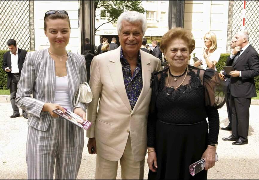Francesco Smalto avec sa femme et son épouse