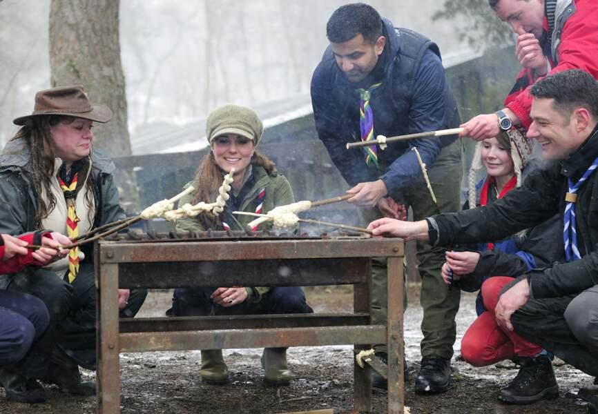 La jeune femme parraine de multiples organisations, dont les scouts de Grande-Bretagne