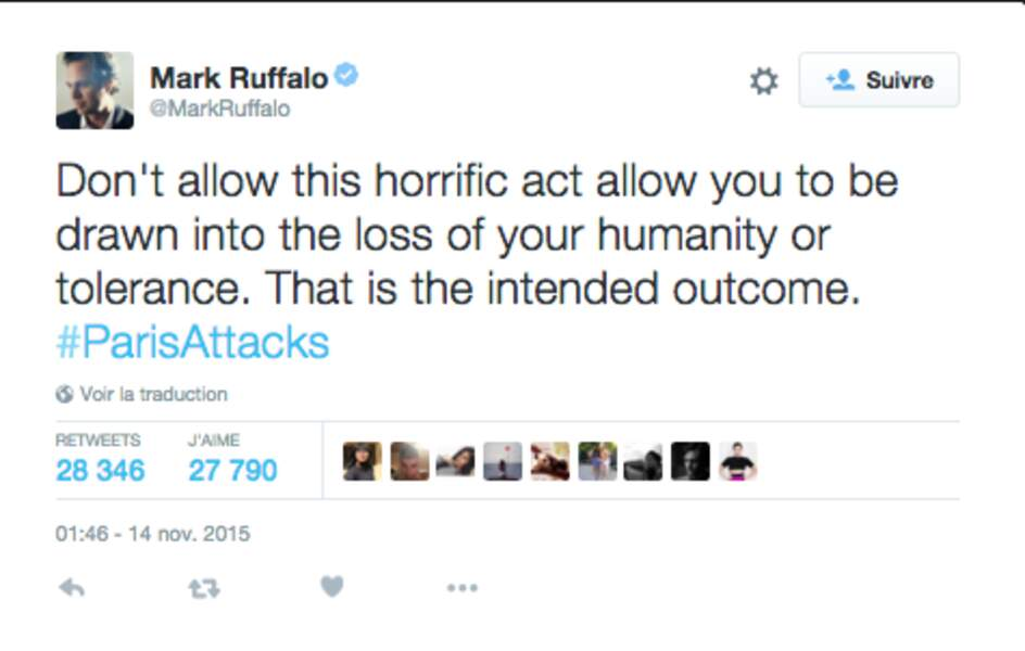La détermination de Mark Ruffalo