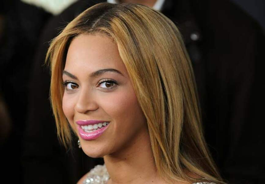 Beyoncé l'aime glossy