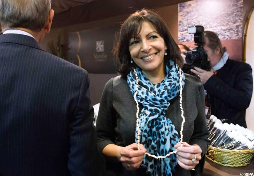 Anne Hidalgo, ravie d'être au salon de l'Agriculture