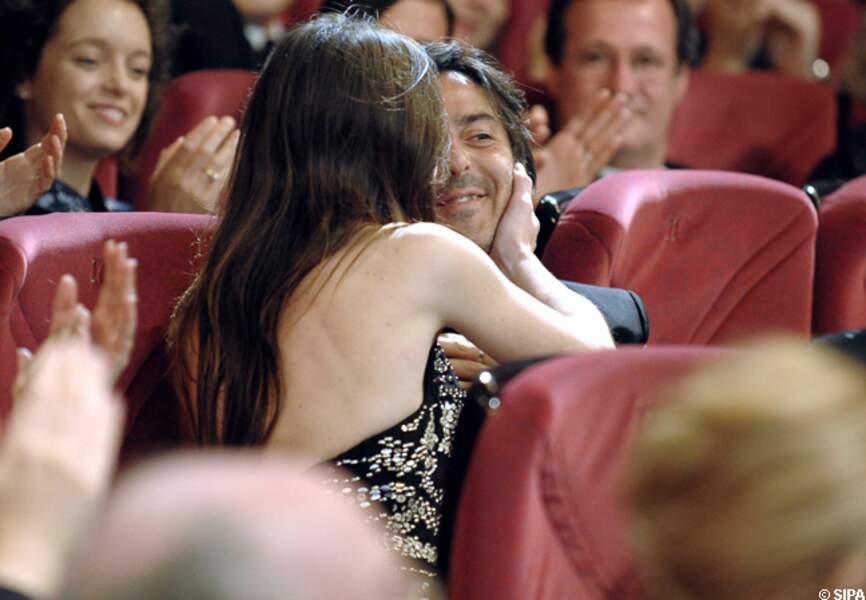 Charlotte Gainsbourg reçoit une palme d'or en 2009