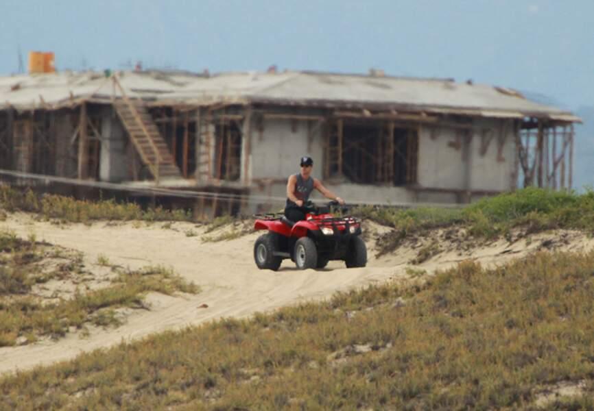 Justin Theroux à Cabo San Lucas