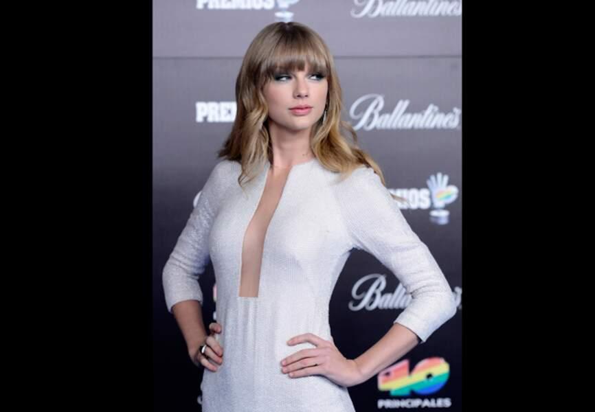 Pose un brin gonflée pour Taylor Swift à Madrid