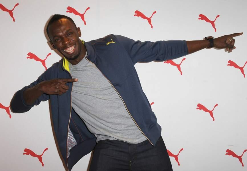 11: Usain Bolt.