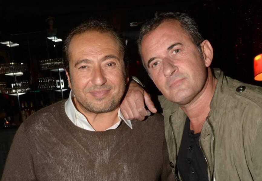 Patricl Timsit et Christophe Dechavanne