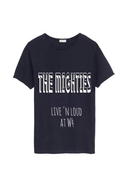 Son t-shirt engagé développé pour W4