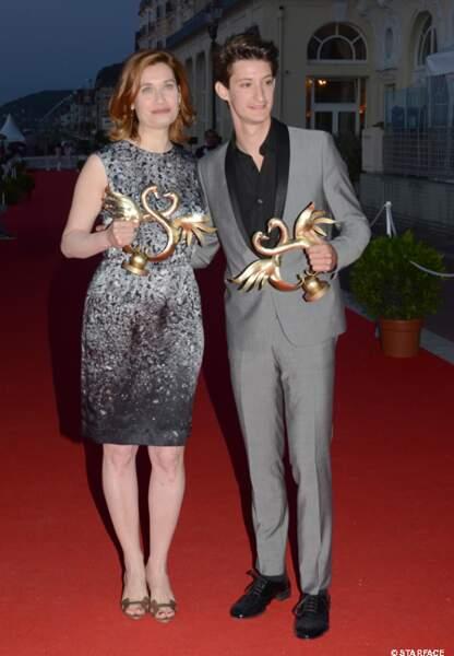 Emmanuelle Devos et Pierre Niney