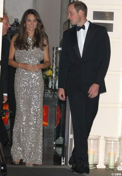 Le prince William et la princesse Kate ont sorti le grand jeu