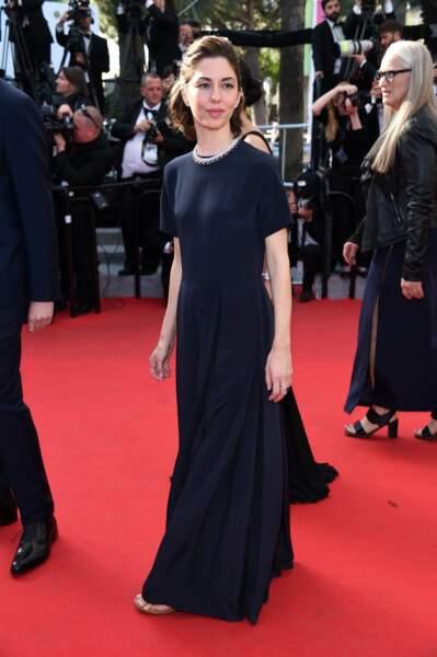 Sofia Coppola en Valentino et collier Chopard