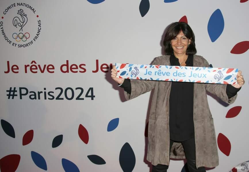 La maire de Paris Anne Hidalgo était fière de sa ville