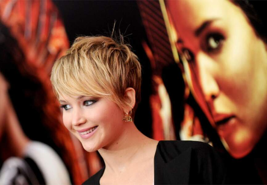 Jennifer Lawrence : après l'Oscar, la belle rayonne dans Hunger Games