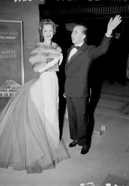 Charles James et Mrs Howard Reilly, 1957