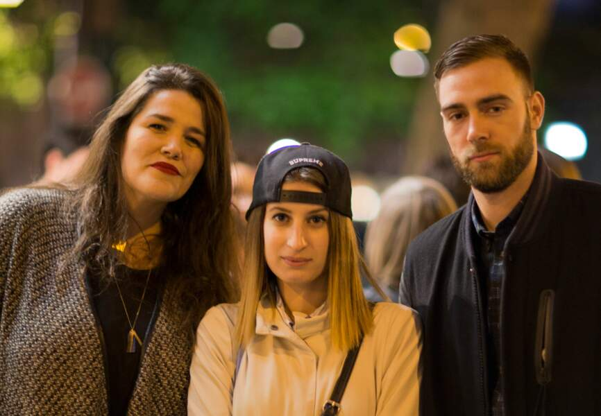 Audrey Contino, Camille Farrugia, Paul Belin