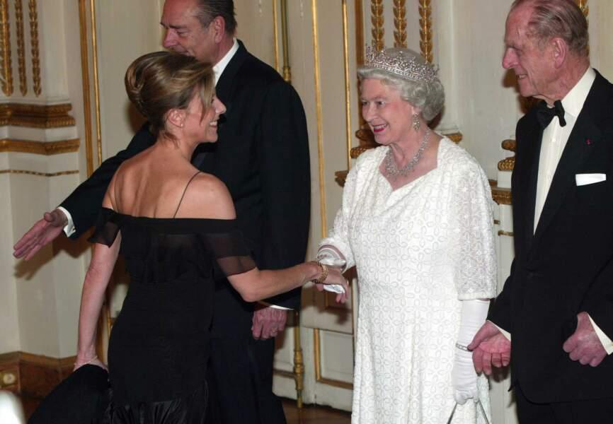 Rencontre avec la Reine d'Angleterre