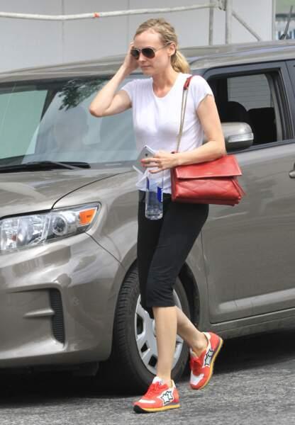 Le Sugar, même en allant à la gym comme le prouve Diane Kruger