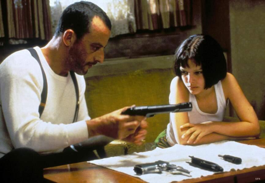 Natalie Portman se révèle dans le film Leon en 1994