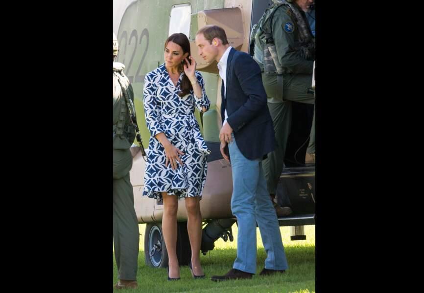 Kate et William arrivent dans les Blue Mountains