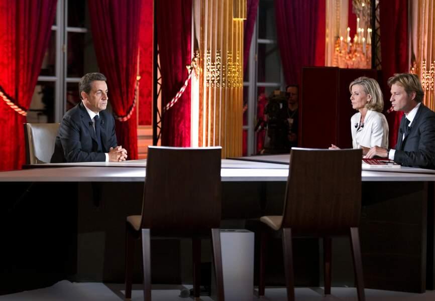 Interview de Nicolas Sarkozy