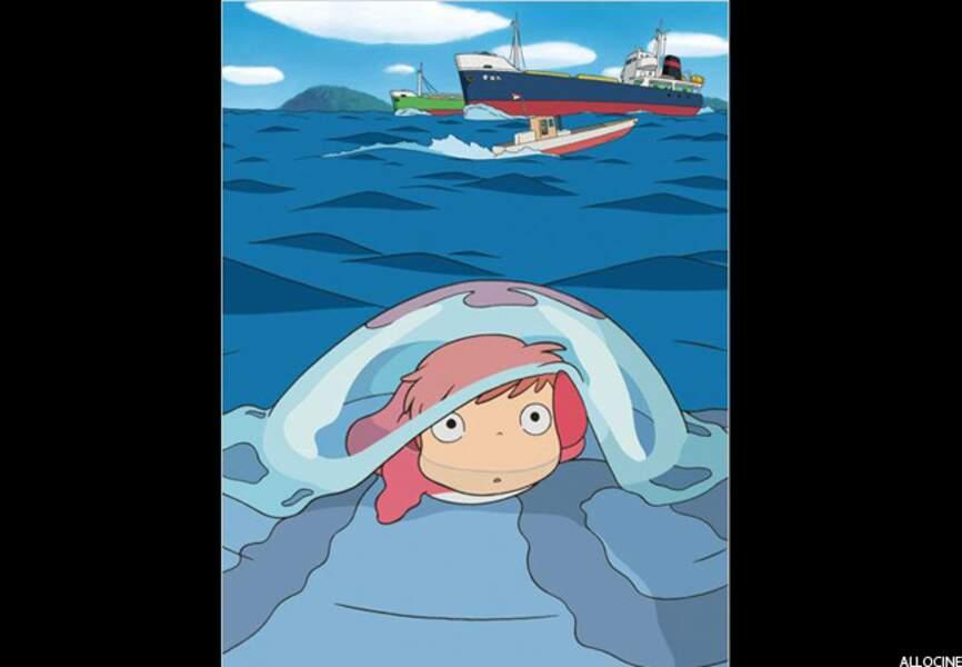 Ponyo sur la falaise (2009)