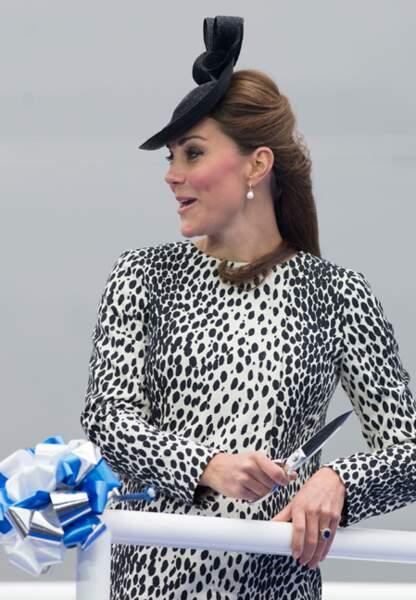 Kate, ou l'élégance faite princesse...