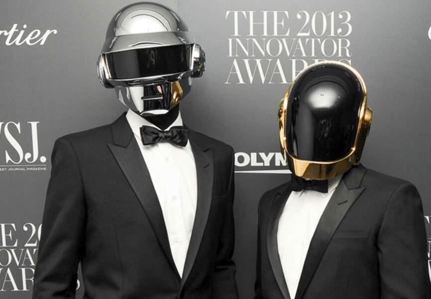 Les Daft Punk, on fait un nouveau carton avec Random Acces Memories