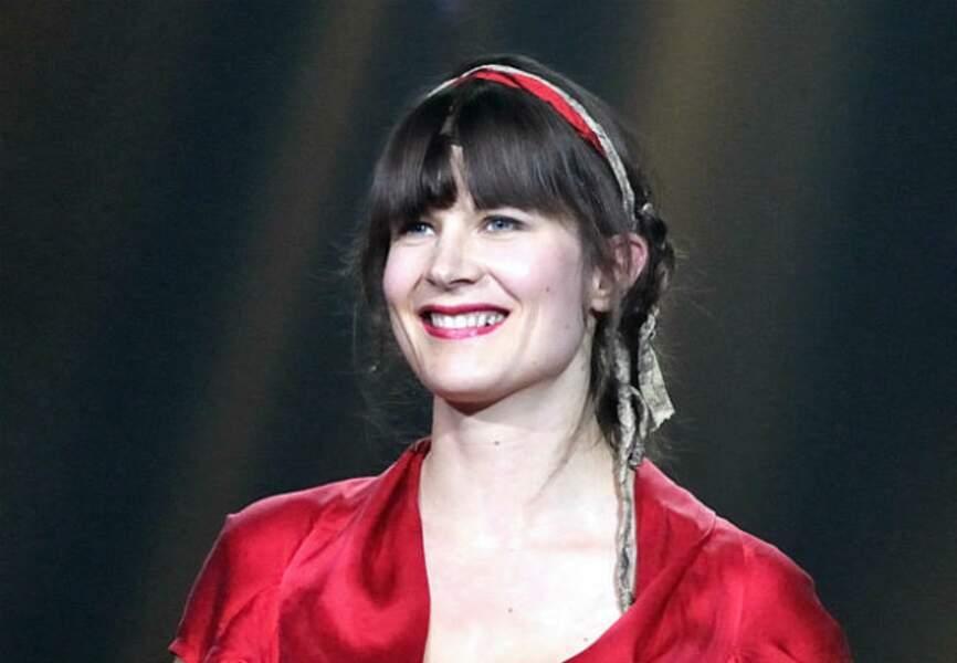 Juillet: La chanteuse Camille a mis au monde son deuxième enfant, Lila