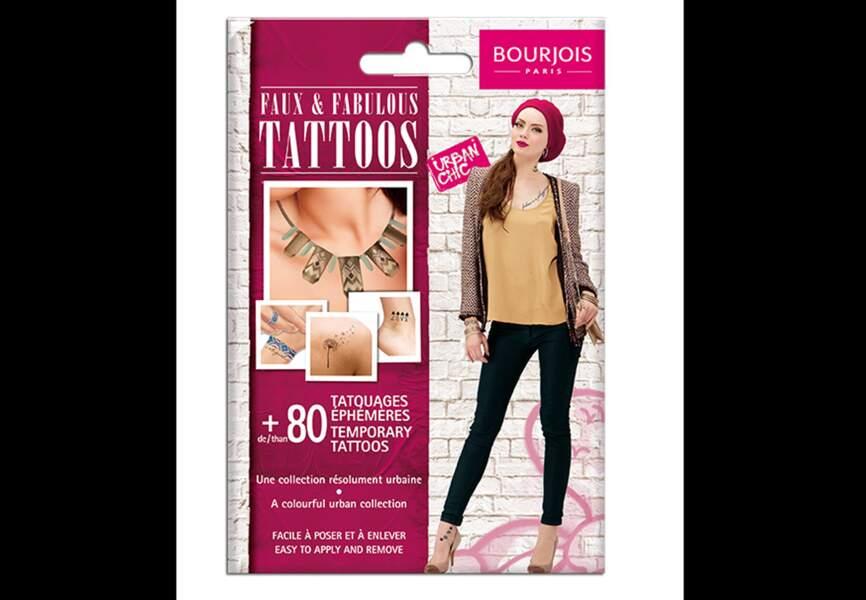 Bourjois - Faux & Fabulous Tattoo Urban Chic - 9,99€
