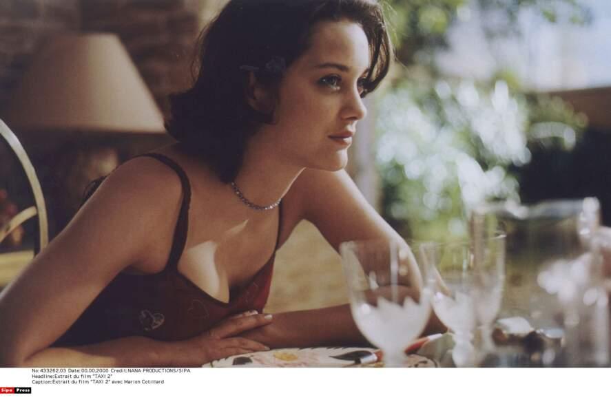 2002, Marion Cotillard dans Taxi 2