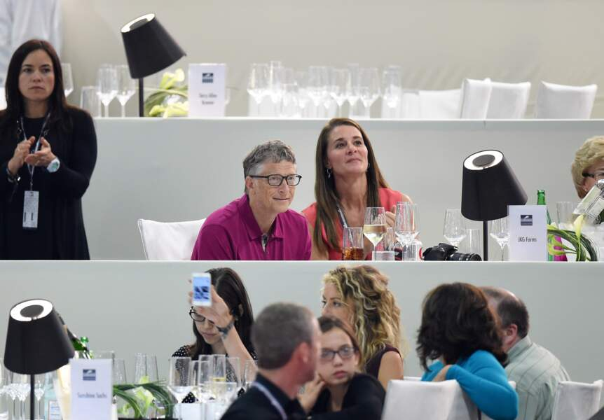 Le milliardaire Bill Gates et sa femme, Melinda