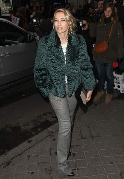 Alexandra Golovanoff avant le show Balenciaga