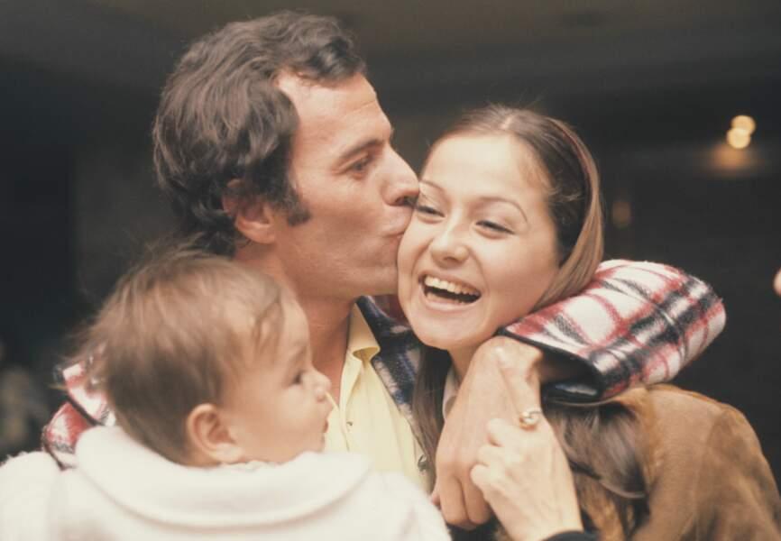 Julio Iglesias, Isabel Preysler et leur fils Julio José