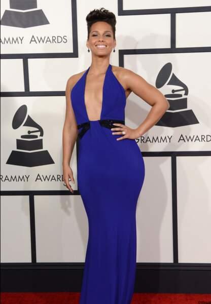 Alicia Keys en Armani Privé.