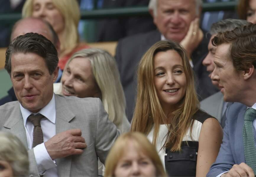 Hugh Grant avec Sophie et Benedict Cumberbatch