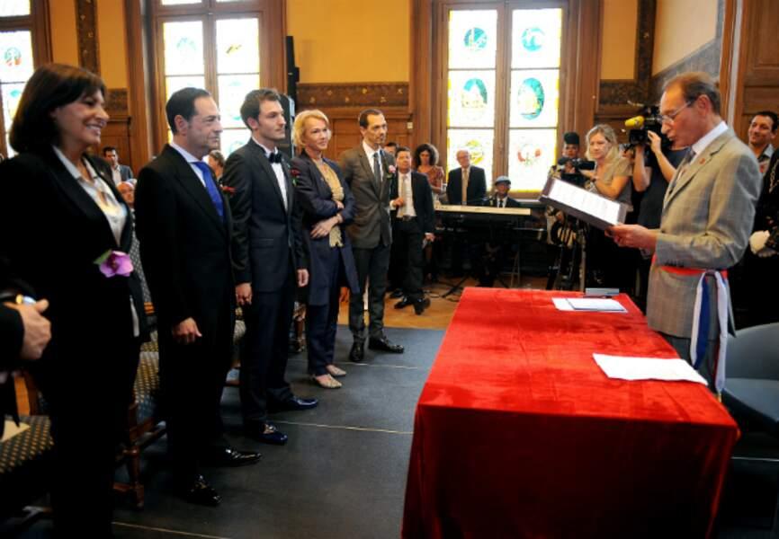 La cérémonie de mariage à la mairie du XIIème arrondissement de Paris