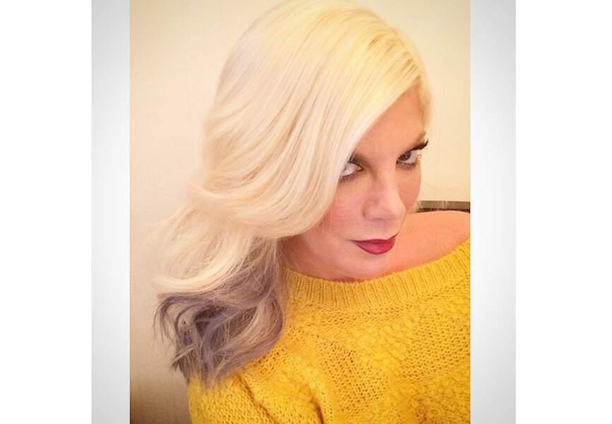 Fabien Provost préconise ce genre de couleur sur des blonds platines