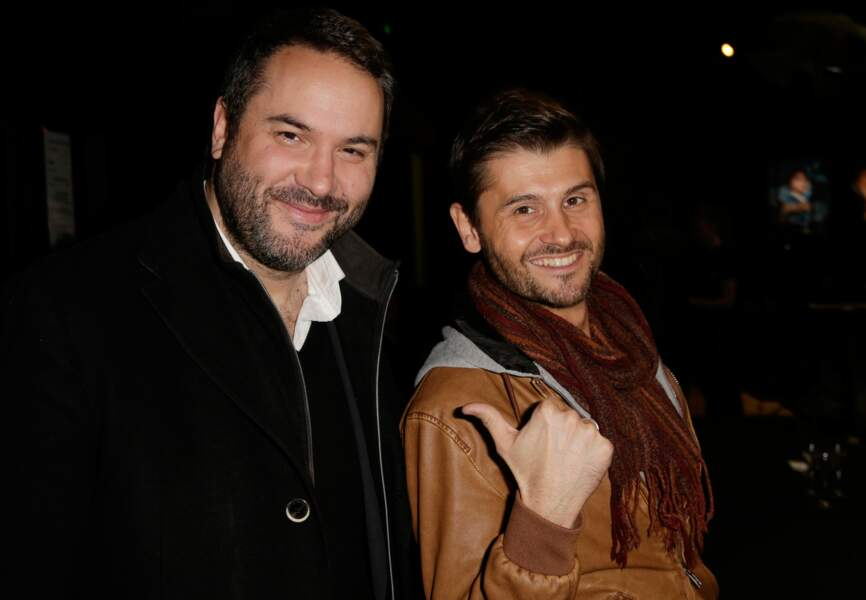 Bruce Toussaint et Christophe Beaugrand