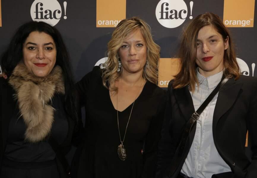 Marjane Satrapi, Caroline Faindt et Valérie Donzelli