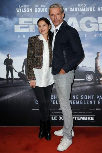 Virginie Ledoyen et Lambert Wilson assistent a la Premiere de 'Enrages'