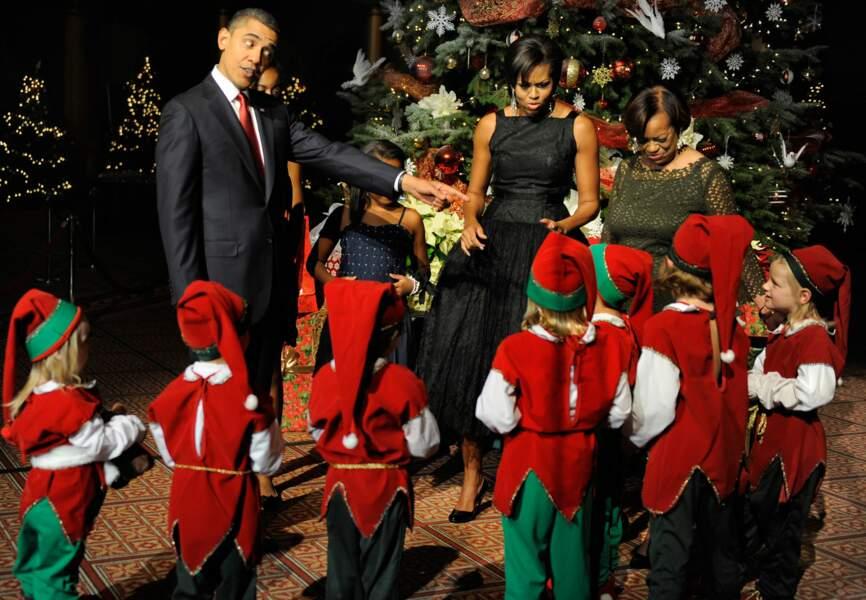 Barack Obama et Michelle Obama