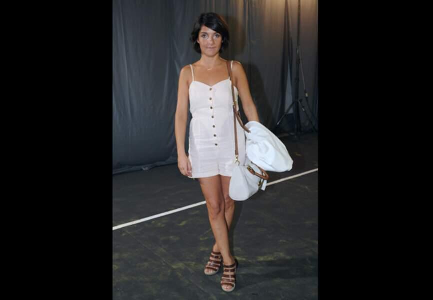 Florence Foresti, blanc immaculé